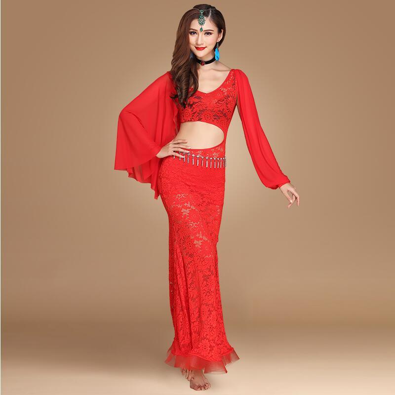 Nouveau Costume de danse du ventre Sexy robe de danse du ventre indien femmes Performance Stagewear carnaval femmes indiennes Costumes de danse du ventre
