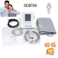 CONTEC08A Digital Blood Pressure Monitor+Adult Cuff Free SW + Adult SPO2 probe