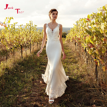 Jark Tozr Vestidos De Boda 2019 V-neck Wedding Dresses