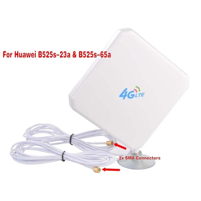 Huawei B525 35dBi 3G 4G LTE antena sygnału dalekim zasięgu (router nie wchodzi w zakres) tanie tanio Zapory 1 X10 100 1000Mbps Wi-Fi 802 11 g Wi-Fi 802 11 n Wi-Fi 802 11 b Antena B525 300 MB s 2 4 G 5G W strona główna