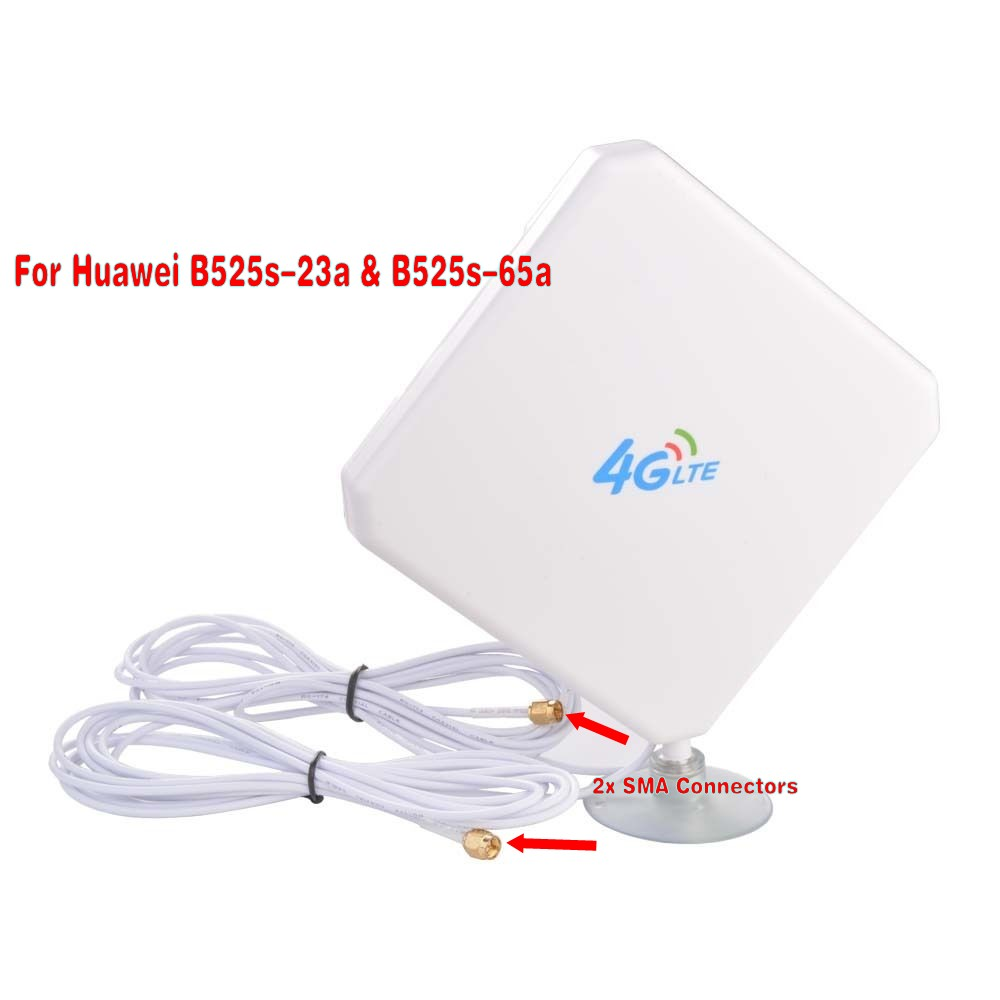 Huawei B525 B612 B715 B593 E5186 35dBi 3G/4G LTE Long Range Signal antenna(router not included) image
