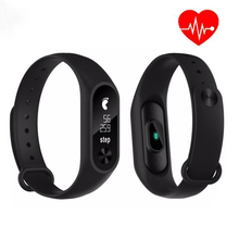 New M2S Smart Bracelet Heart Rate Monitor Bluetooth Smart Wristband Waterproof Sports Watches Fitness Tracker for Men and Women