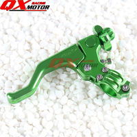 CNC Alloy Short Stunts Clutch Lever For KX KLX KXF KDX KLR NSR 125 250 450