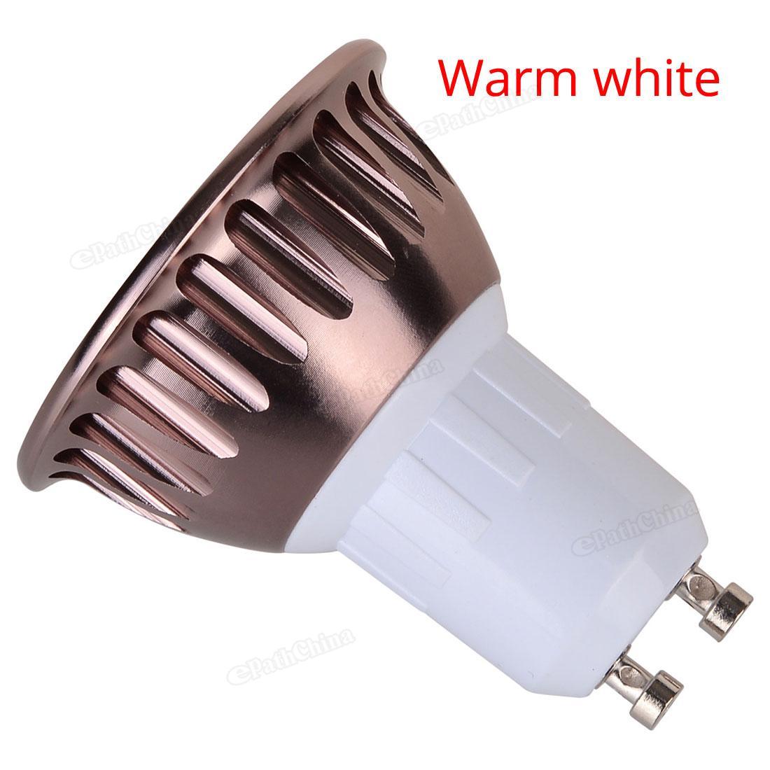Dimmable GU10 720 800LM 9W LED Light Bulb Warm White White Light COB Spotlight Lamp Downlight 110V 220V in LED Bulbs Tubes from Lights Lighting