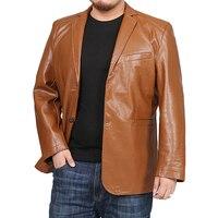 5XL 6XL 7XL 8XL Plus jackets men Brand PU Leather Jacket Men plus size Blazer Casual Mens Jackets Motorcycle windbreake