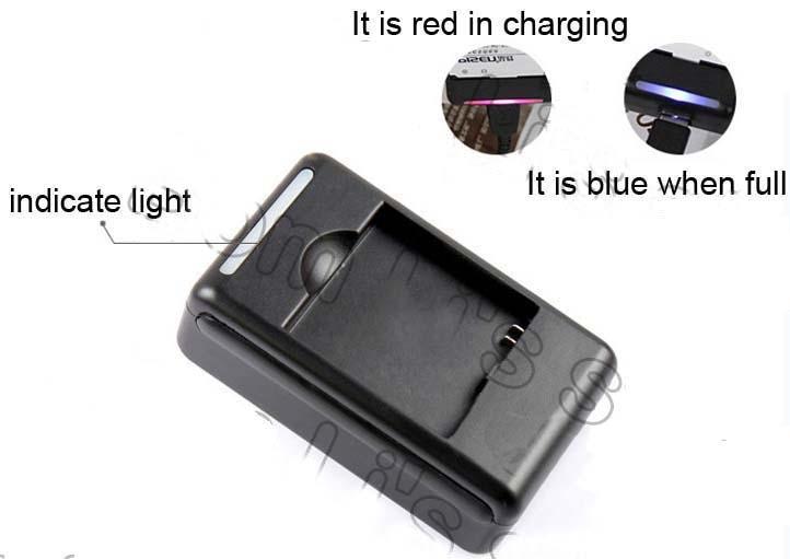 YIBOYUAN батареи док Зарядное устройство для bl-51yf G4 Универсальный USB Выход Стиль стены Зарядное устройство для LG G4 H815 H818 h810 vs999 f500