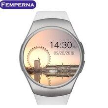 En la acción! kw18 smart watch apoyo tf tarjeta sim smartwatch mtk2502c monitor de ritmo cardíaco para apple samsung gear s2 teléfono android