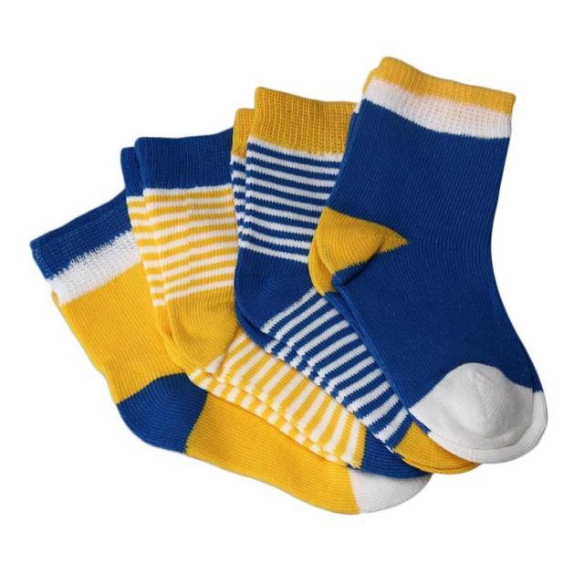 4 Pairs Striped Socks Baby New Born Boy Girl Casual Winter Infantil Baby Slippers,Anti Slip Socks Floor Children Socks