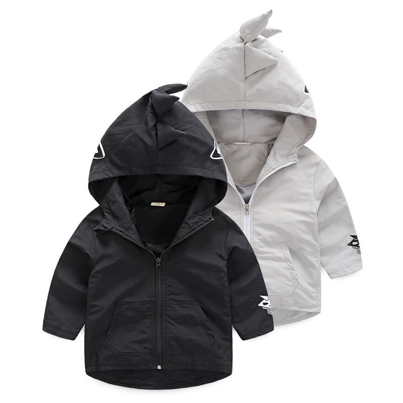 2017 Autumn children hoodies Boys girl cotton sweatshirt cartoon monster dinosaurs baby kid clothes Windbreaker 2-7Y