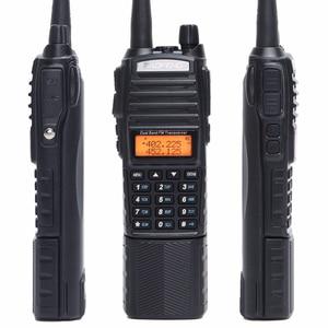 Image 2 - Baofeng UV 82 플러스 워키 토키 8W 강력한 3800 mAh 배터리 DC 커넥터 UV82 듀얼 PTT 밴드 양방향 라디오 771 전술 안테나