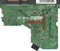 HDD PCB логика совета 2060-701393-002 REV B для WD 3.5 SATA ремонта жесткий диск восстановления данных