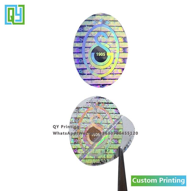 10000 шт. 15x20 мм, бесплатная доставка, пользовательская печать, антифальшивая Этикетка 3D 2D, блестящая фольга, голограмма, наклейки, гарантия, ан...