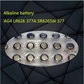 Alta calidad NUEVO 30 UNIDS/LOT * 2 1.5 v pila de botón Ag4 lr626 377 modelo sr626sw 177 pilas de botón reloj electrónico del juguete de la batería