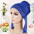 10 cor headcloth cocar véu Muçulmano brilhante broca baotou moda senhora