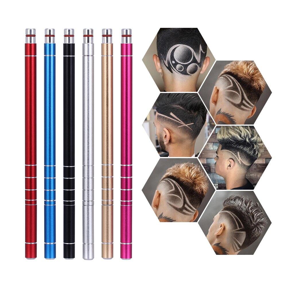 Shaving Razor Pen Magic Engrave Beard Hair Scissors Refined Eyebrows Razor Carve Shears Tattoo Barber Razor Oil Head Notch Man