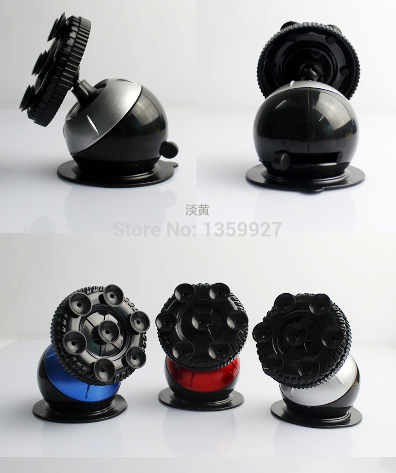 1pc random delivery color suction <font><b>cup</b></font> House <font><b>lizard</b></font> universal Car holder mobil phone holder Globe holder