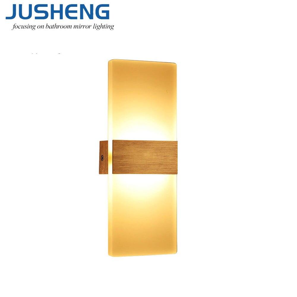 Նոր ներսի LED պատի լույսերը 6W բաղնիք - Ներքին լուսավորություն