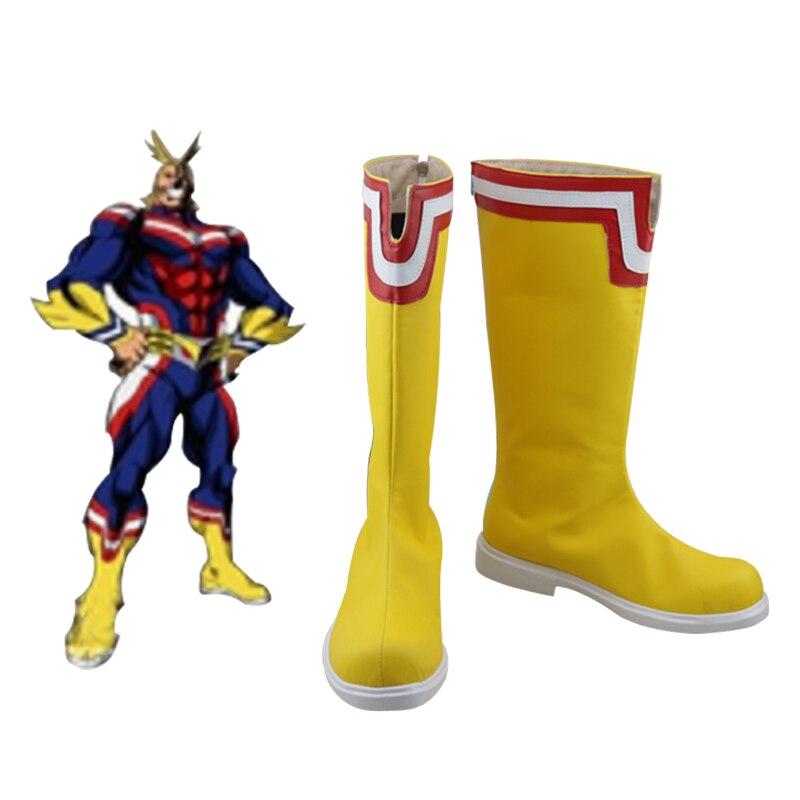 Boku no Hero Academia Midoriya Izuku Todoroki Shoto All Might Cosplay Boots My Hero Academia bakugou katsuki Shoes