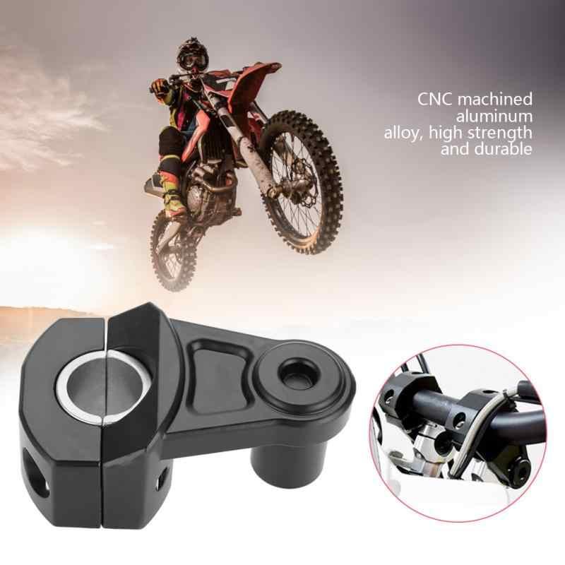 1 пара зажимов для Руля Мотоцикла 12 мм или 28 Suzuki Yamaha Kawasaki BMW Honda универсальные