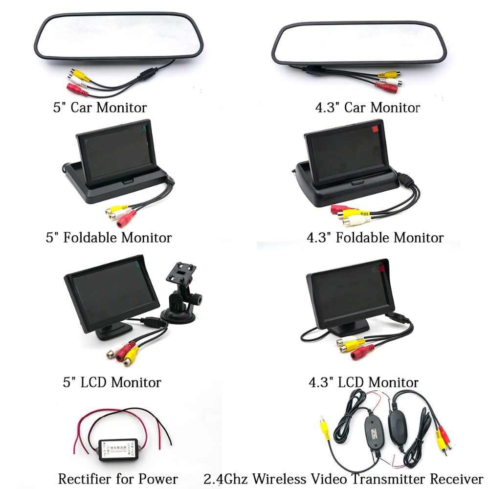 Fisheye lentille MCCD Starlight Vision nocturne caméra de recul de voiture pour Audi TT A1 A3 A5 A4L A4 A7 Q3 Q5 RS5 redresseur de moniteur sans fil