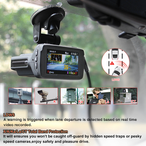 Image 3 - RUCCESS Radar Detectors 3 In 1 CAR DVR GPS Camera Logger Dash Cam Radar Detector for Russia Laser 2017 Ambarella 1080p Detector