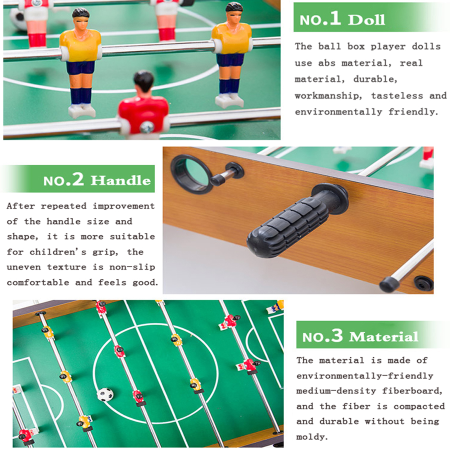 Football Table Games Foosball Table Soccer Tables Party Board Mini Balle Baby Foot Ball Desk Interaction Game Kid Player Gift T4-3