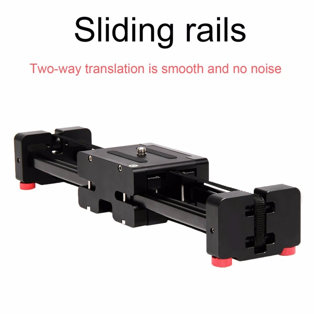 16 40cm Extendable to 32 80cm Retractable Camera Video Slider Dolly Track Rail Stabilizer Load Up To 8kg For Canon Cameras