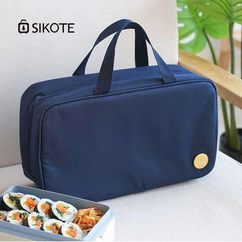 2018 Neue Tragbare Isolierung Paket Oxford Tuch Aluminium Folie Isolierung Tasche Zu Arbeiten Mit Reis Lunchbox Tasche