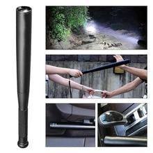 36cm Aluminium Alloy Torch Waterproof T6 LED Flashlight Baseball Bat Baton Emergency Self Defense Tool for Lawman Driver