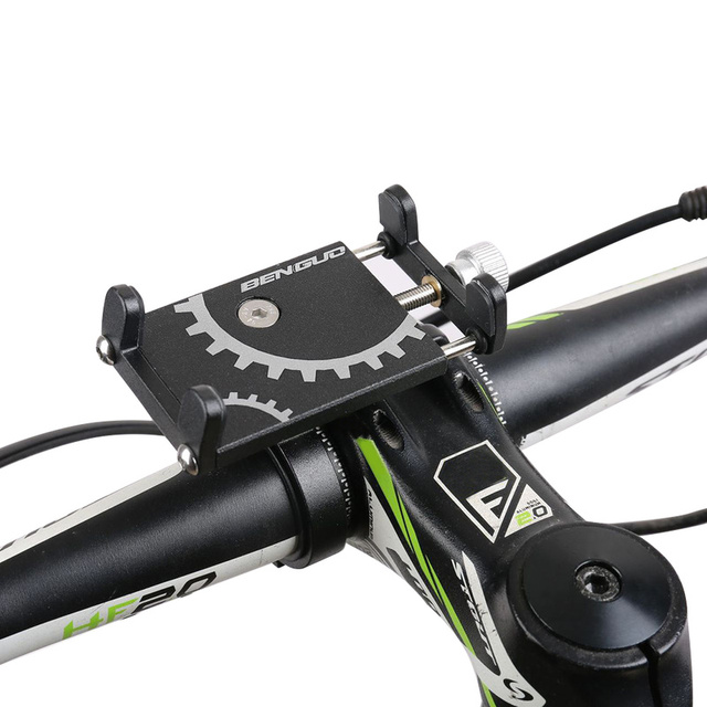 Bicycle and Moto Handlebar Phone Holder