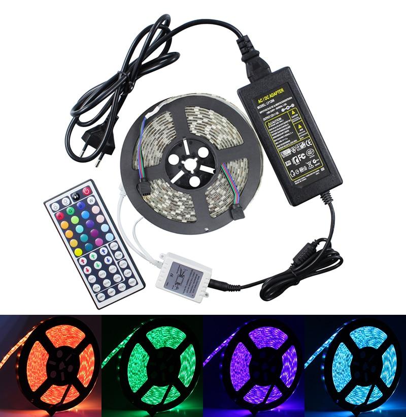 RGB LED λωρίδα 5050 IP65 αδιάβροχο 12V - Φωτισμός LED