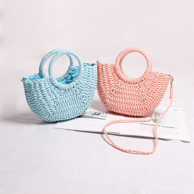 Handmade Mini Hollow Bamboo Bag