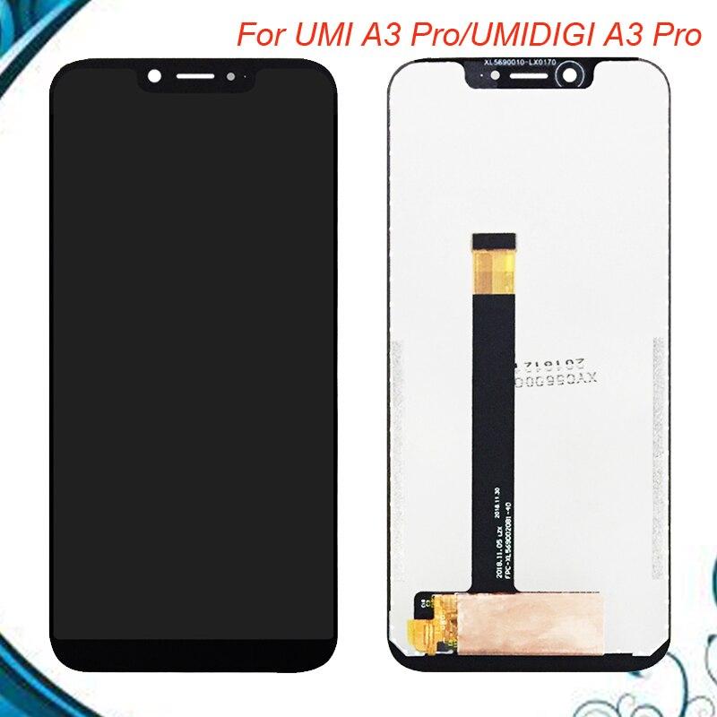 Pour UMI UMIDIGI A3 Pro écran LCD et remplacement de l'assemblage de numériseur d'écran tactile pour 5.7 ''UMIDIGI A3Pro