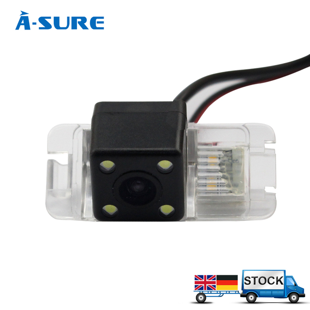 A-Sure Hot selling Color CCD Rear View Reverse WIRELESS Backup Camera for FORD MONDEO FIESTA S-Max KUGA Mondeo (BA7) II Facelift
