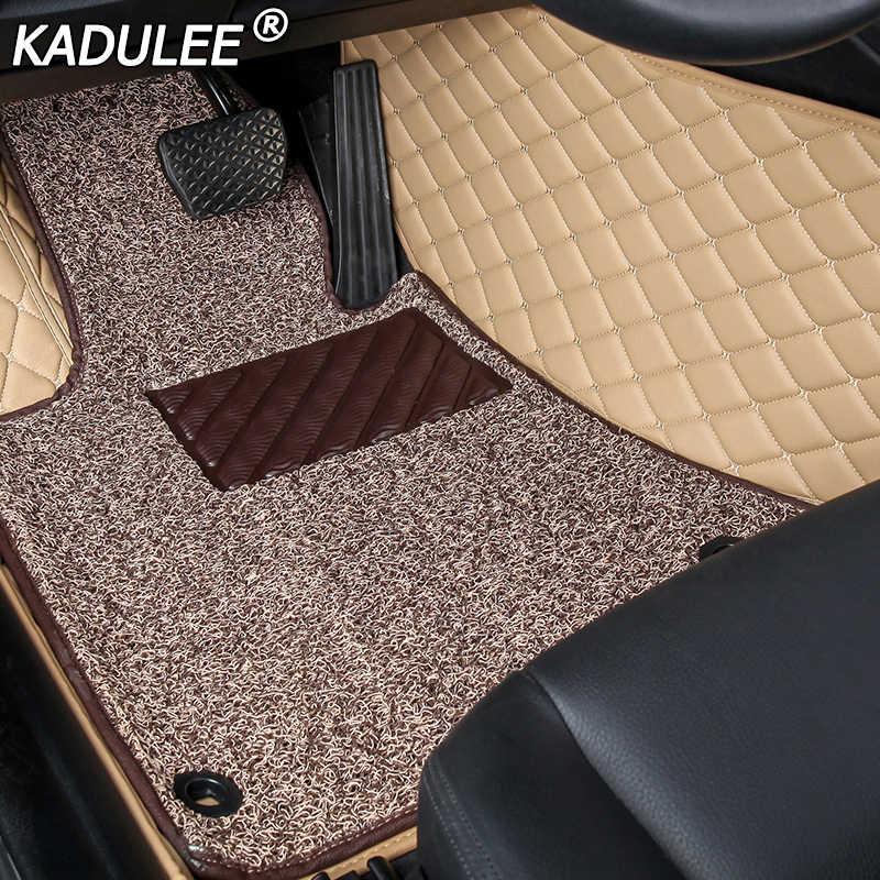 KADULEE alfombra del coche para ford fusion fiesta F150 s-max ranger explorer 5 Mustang Mondeo kuga Edge de alfombras de piso