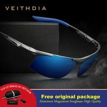 Veithdia Semi-rimless Sunglasses Polariz