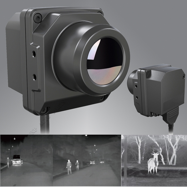 Infrared Thermal Imager Car Vehicle Night Vision Driving / Hunting Searching Thermal Imaging Camera with 8 inch LCD Monitor