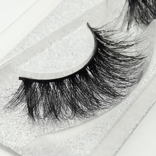 Visofree eyelashes 3D mink eyelashes long lasting mink lashes natural dramatic volume eyelashes extension false eyelashes D22 2