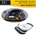 Kit de carrosserie en PU non peinte Volkswagen | Pour VW Golf VII MK7 GTI R 2014-2017