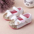 Baby Girls leather shoes Princess butterfly-knot soft Toddlers Kids casual Shoe Summer Cute Girl Shoes Kids Toddler Sandals