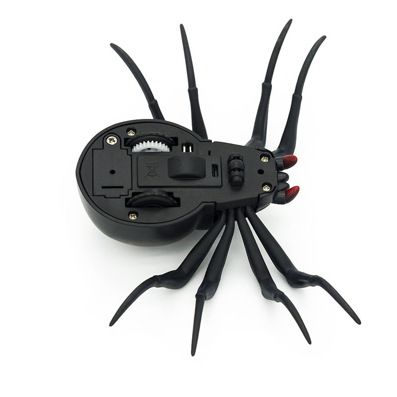 Infrared Remote Control Cockroach Spider RC Toy Mock Realistic Fake Creative Electric Animal Prank Toys Tricky Funny Kids Gifts