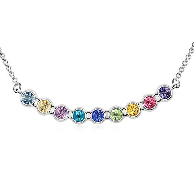 NEW Collar Sterling Jewelry Colar Necklaces Elegant Austria Necklace Everyday Chic Minimalist Art Deco Style Fun Jewelry Bridal