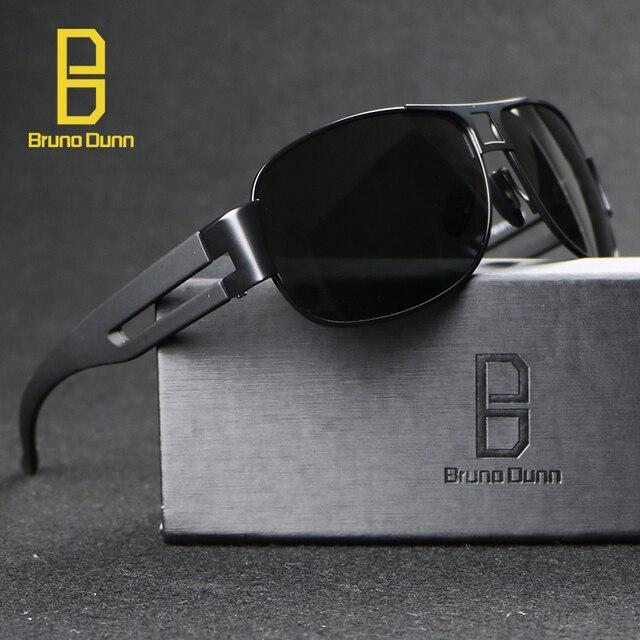 Marque de luxe Designer lunettes de Soleil Aviateur Hommes polarisées 2018  Lunettes De Soleil Homme Oculos d96f80fcb43d