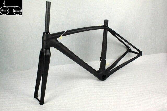 Super light bike frame 780g(size 47,raw frame) Toray T1100 60T 47/49 ...