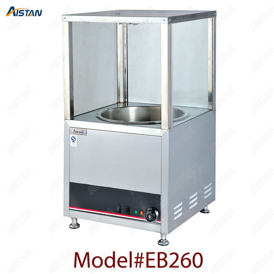 EB260 counter top  commercial electric stainless steel chestnut roaster machine peanut cashew roasting  equipment 1