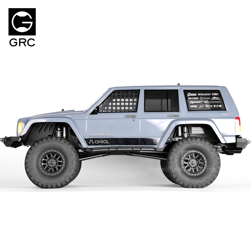 Image 3 - 1/10 RC Crawler Car Front & Rear Mud Flaps Fender for Axial SCX10 90046 90047Parts & Accessories   -