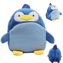 Lovely Penguin baby backpack plush shool bags kids mochila lovely design mini bags toy for child