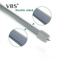 5ft Led Tubes Double Sides T8 1 5m Tube Lights High Bright Cool White Led Fluorescent