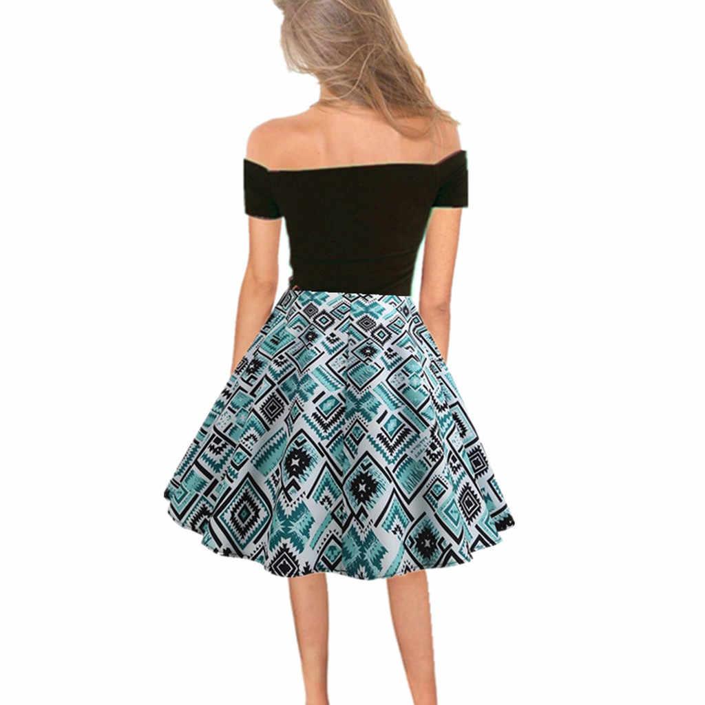 Perimedes Для женщин платье для танцев Для женщин/девочек разного возраста, Танцы r Шлейфом Платье Винтаж в ретро-стиле с открытыми плечами, вечернее вечерние свободное платье # g25