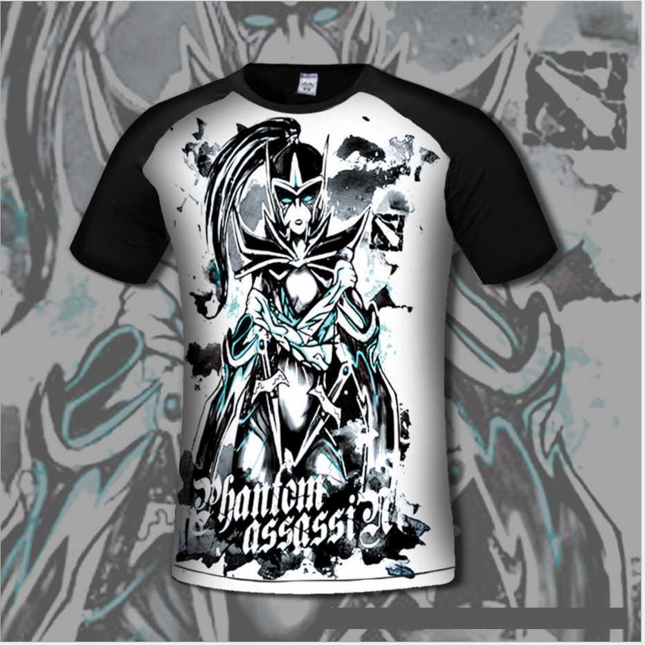 Chinoiserie Dota 2 T-shirt για άνδρες άνετα Dota2 Anime - Ανδρικός ρουχισμός - Φωτογραφία 1
